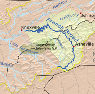 French Broad River – Homage to Appalachia